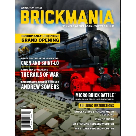 Brickmania Magazine Issue 26 Summer 2019