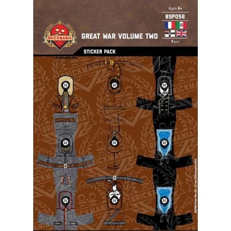 Great War Volume Two Crew - Sticker Pack