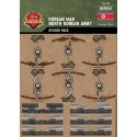 Korean War - North Korean Army - Sticker Pack