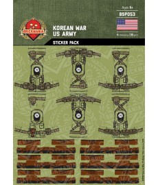 Korean War - US Army - Sticker Pack