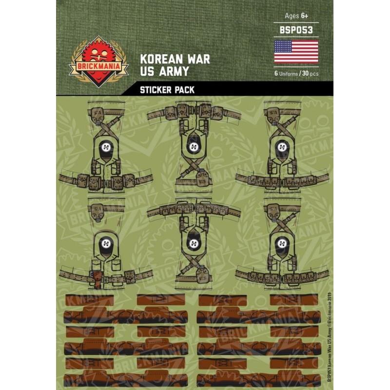 Korean War - US Army - Sticker Pack