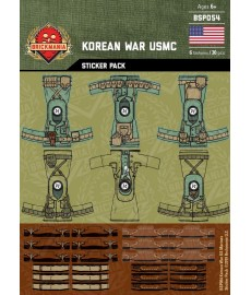 Korean War - USMC - Sticker Pack