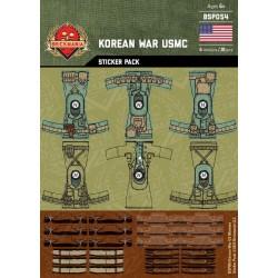 Korean War - USMC - Sticker Pack