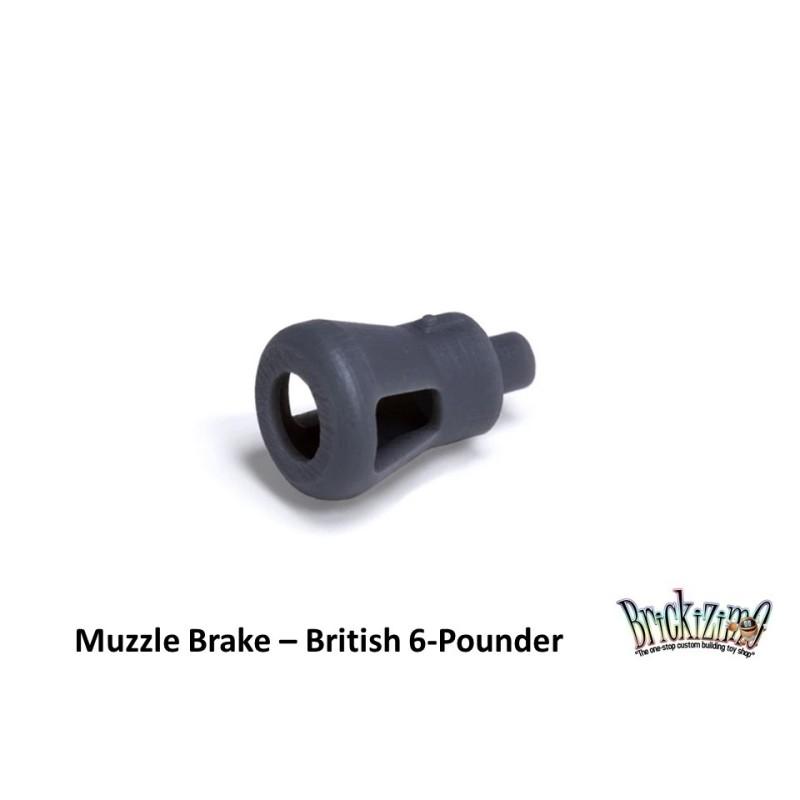 British 6-Pounder - Muzzle Brake
