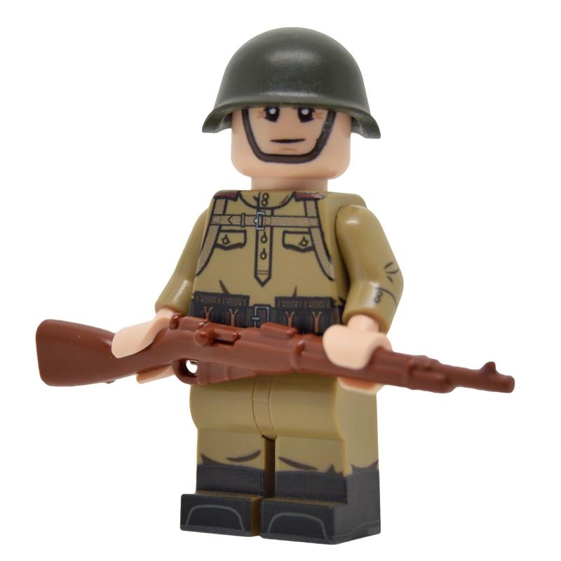 WW2 Soviet Infantry with M43 Gymnastyorka (Mosin)