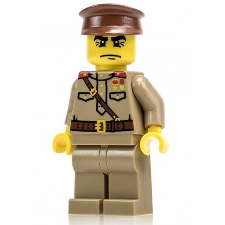 Brickmania WW2 Russian Officer