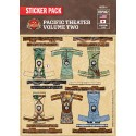 WW2 - Pacific Theater Volume Two Crew Pack - Sticker Pack