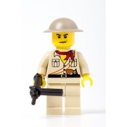 Britische Infanterie mit Sten gun