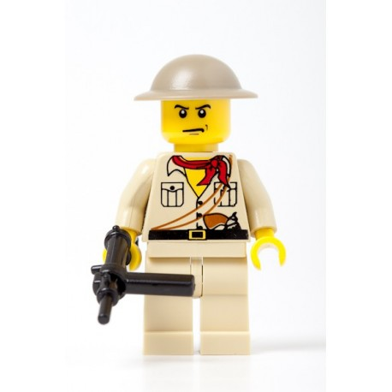 Britse Infanterie met Sten gun
