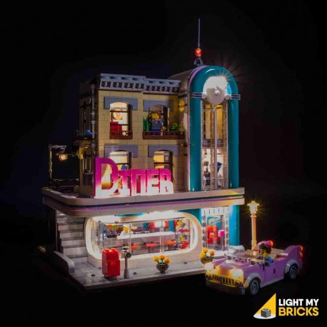 LEGO Downtown Diner 10260 Light Kit
