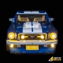 LEGO Ford Mustang GT - 10265 Verlichtings Set