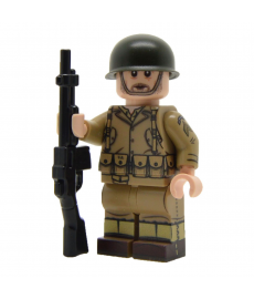 WW2 U.S. Army Ranger Minifigure (BAR)
