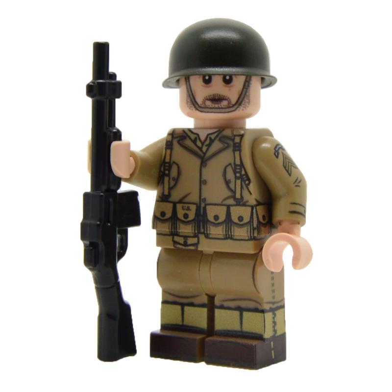 WW2 U.S. Army Ranger Minifigure (BAR)