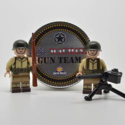 WW2 American Machine Gun Team