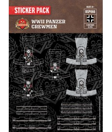 WW2 - US Army Tank Crewmen - Sticker Pack