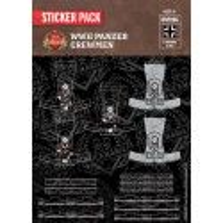 WW2 - Panzer Crewmen- Sticker Pack