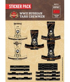 WW2 - Panzer Crewmen - Sticker Pack