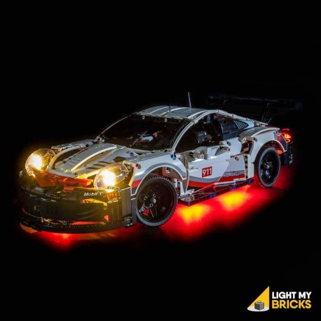 LEGO Porsche 911 RSR 42096 Light Kit