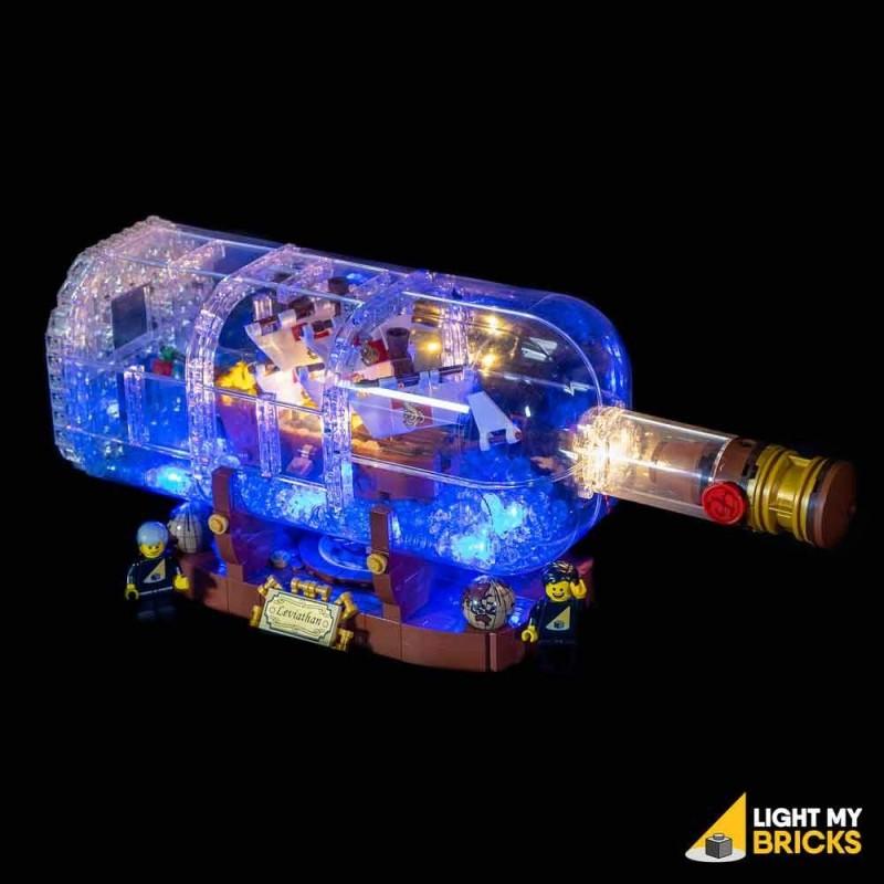 LEGO Ship in a Bottle 21313 Light Kit