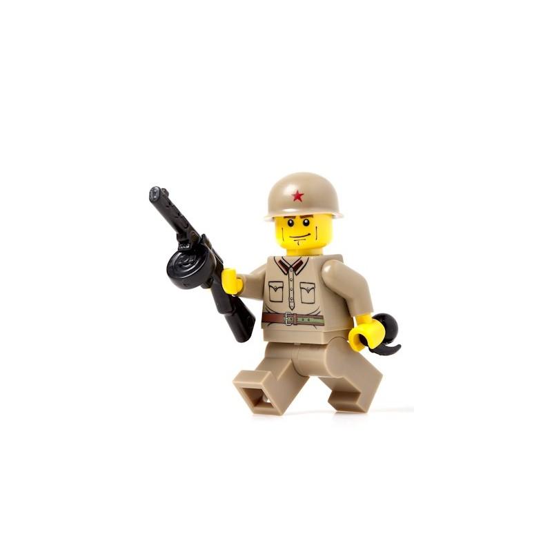 Russische Soldaat - Владимир - met PPsh-41