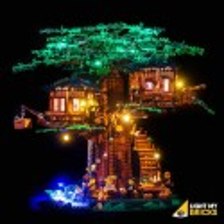LEGO Tree House 21318 Verlichtings Set