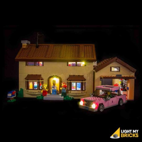 LEGO The Simpsons House 71006 Light Kit