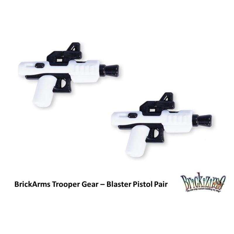 BrickArms Trooper Gear - Blaster Pistol Pair