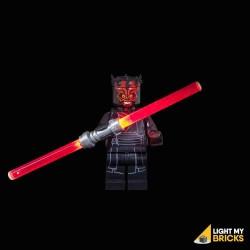 LED LEGO Star Wars Lichtzwaard - Darth Maul