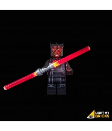 LED LEGO Star Wars Lightsaber - Darth Maul