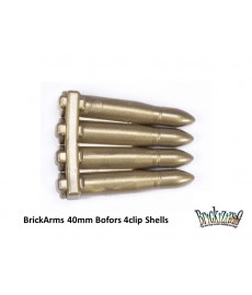 40mm Bofors 4clip Shells