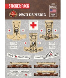 WW2 - US Medic - Sticker Pack