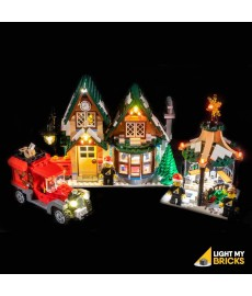LEGO Winter Village Post Office 10222 Beleuchtungs Set