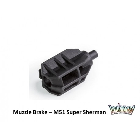 M51 Super Sherman - Muzzle Brake