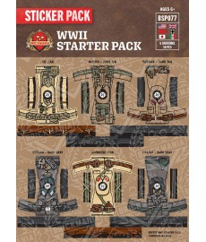 WW2 - Starter Pack - Sticker Pack