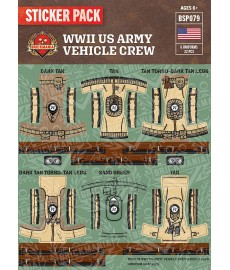 WW2 - British Tank Crewmen - Sticker Pack