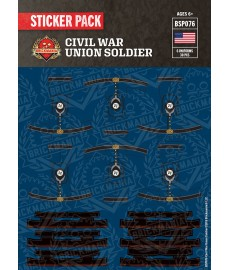 US-Bürgerkrieg Union Soldat - Sticker Pack
