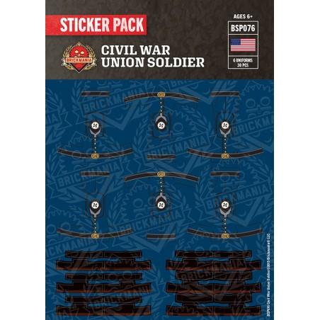 Civil War Union Solider - Sticker Pack