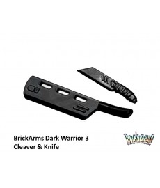 BrickArms Dark Warrior 3 Cleaver & Knife