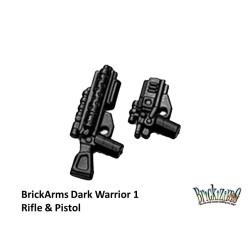 BrickArms Dark Warrior 1 Rifle & Pistol