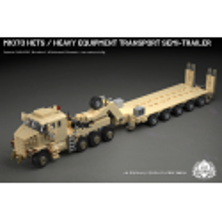 M1070 HETS - Heavy Equipment Transport Semi-Trailer