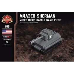 M4A3E8 Sherman - Micro Brick Battle