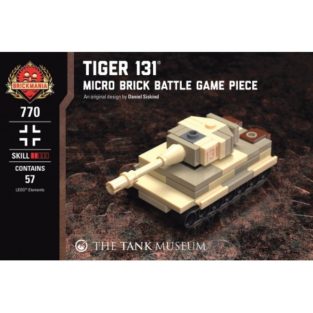 Tiger 131 - Micro Brick Battle
