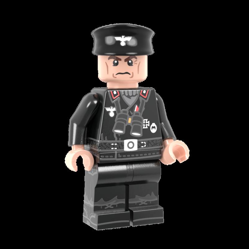 WWII Duitse Maus Commandant
