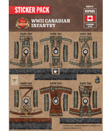WW2 - Canadian Infantry - Sticker Pack