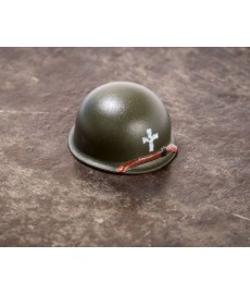 BrickArms® M1 Steel Pot Helmet - Chaplain