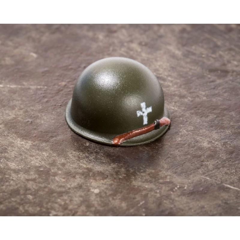 BrickArms® M1 Steel Pot Helmet - Chaplain