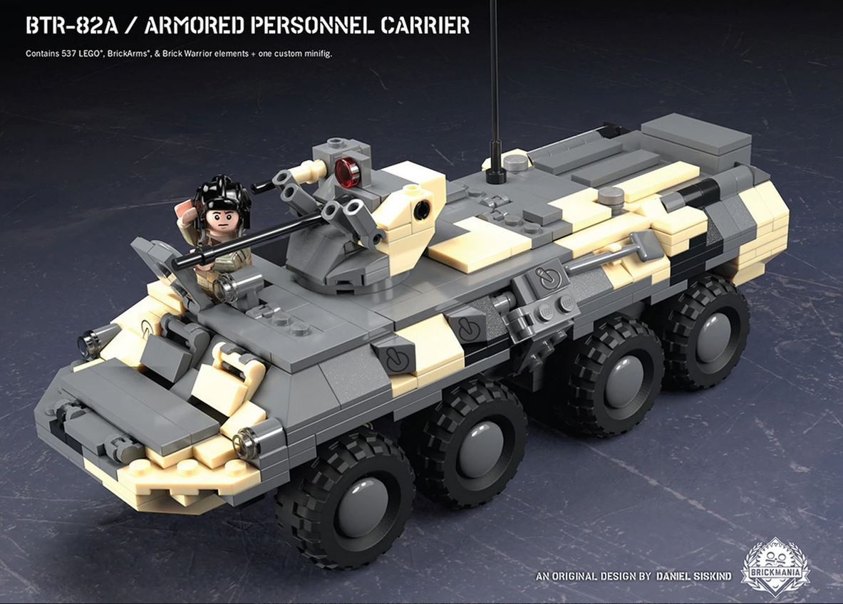 Armored Personnel Carrier Btr 82a