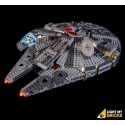 LEGO Star Wars Millennium Falcon 75257 Verlichtings Set