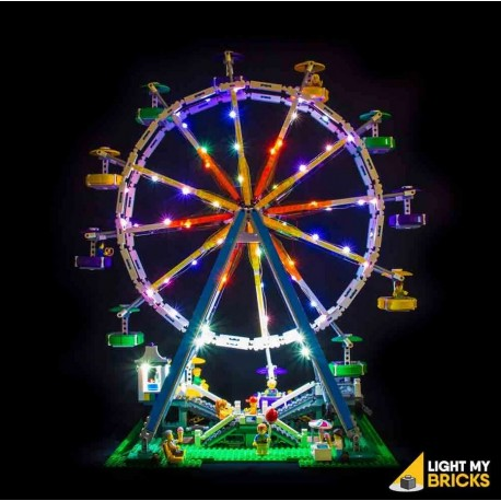 LEGO Ferris Wheel 10247 Light Kit