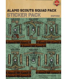 WW2 Alamo Scouts Squad Pack - Sticker Pack